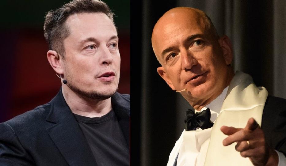 Elon Musk and jeff benzo