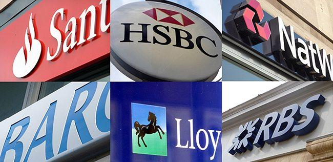 names of banks in uk