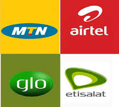 mtn, glo, airtel and 9mobile