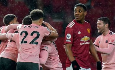 Sheffield United stun Manchester United 2-1 as New Chelsea manager Thomas Tuche failed to win his first game