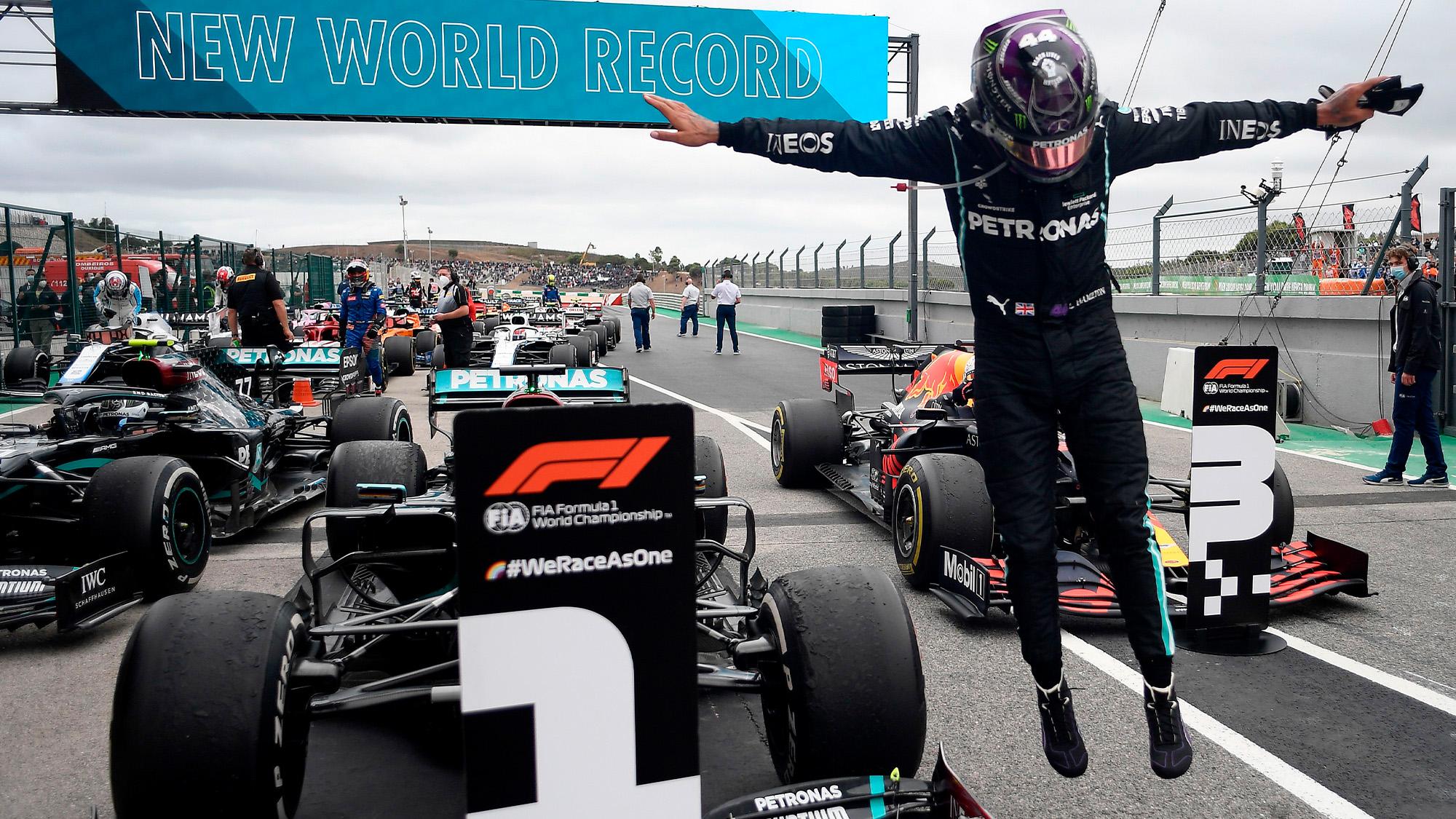 Formula 1 champion, Lewis Hamilton