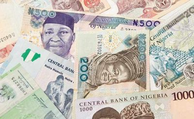 Nigeria naira bank note