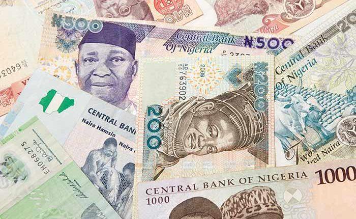Nigeria naira bank note